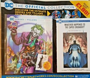 DC HEROES AND VILLAINS  COLLECTION 2021 # 1 - HACHETTE PARTWORKS