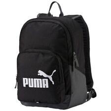 Puma Phase Backpack Rucksack Tasche Schwarz Sport Freizeit Schule Reise NEU