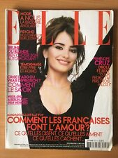 ELLE French 8 Mai 2006 - Penelope CRUZ Christopher BAILEY BRODERIE ANGLAISE MODE