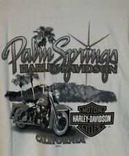 Harley Davidson Palm Springs CA Grab Life by the Bars T Shirt Mens XL