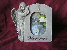 Grabfoto Grabbild Grabschmuck Porzellan Grabstein-p13 ►Ihr Foto◄ 7,5 x 5 cm