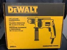 "DEWALT 1/2"" VARIABLE SPEED CORDED HAMMER DRILL  DW511"