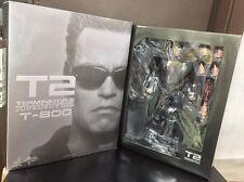 1:6 HOT TOYS MMS117 TERMINATOR T2 T-800 IN Arnold Schwarzenegger FIGURE