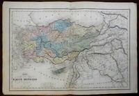 Asia Minor Ancient World Phrygia Pontus Cappadocia Bithynia 1859 Delamarche map