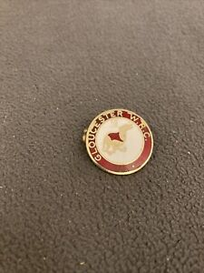 Vintage GLOUCESTER whippet Racing Club Enamel Badge