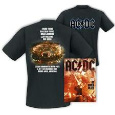 AC/DC Live At River Plate Definitive Live DVD +  XL + L T-shirt - NEW & SEALED