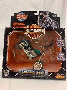 Harley Davidson Custom Shop FXDL Dyna Low Rider Scale 1:20 Die-Cast Motorcycle