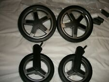 SilverCross Pioneer Complete set of Replacement graphite  rear & front wheels