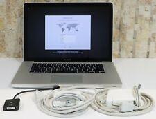 Apple MacBook Pro Mid 2009 15 Inch A1286 3.06 Ghz 8GB Ram 2 HD 480 SSD & 500 HD