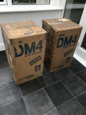 Boxed! B&W DM4 Bowers and Wilkins Floor Standing Speakers Audiophile England UK