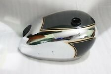 MATCHLESS AJS AMC TWIN CYLINDER MODEL G9 G12 GAS FUEL PETROL TANK BLACK PAINTED
