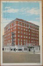Marshalltown, IA 1941 Postcard: Hotel Tallcorn - Iowa