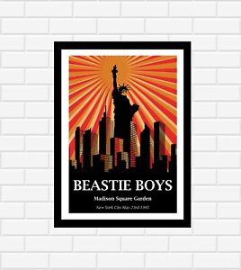 Beastie Boys Concert Poster