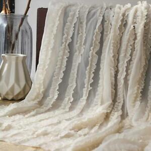 """53"""" Wide Multi Layers Ruffle Chiffon Lace Fabric for Girl Tutu Dress By The Yard"""