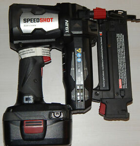 Craftsman C3 19.2V Cordless Speed Shot 18 Gauge Brad Finish Nailer Battery Rare