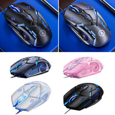 RGB Colorful Gamer Mechanical Wireless Gaming Mouse 3200DPI 7 Button RGB Mice