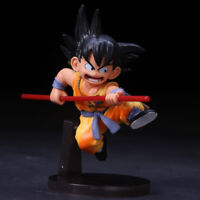 Anime Dragon Ball Z Childhood Goku PVC Action Figure Collection Figurine Toy13CM