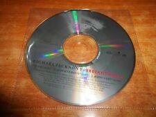 MICHAEL JACKSON You rock my world CD SINGLE PROMO USA 2001 SIN PORTADA 3 TEMAS