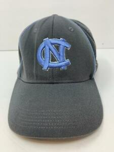 North Carolina Tar Heels NCAA Nike Elite Flex Hat Gray & Carolina Blue OSFA