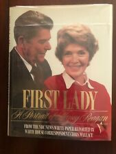SIGNED First Lady A Portrait of Nancy Reagan
