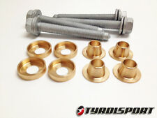 TyrolSport DeadSet Rigid REAR Subframe Collar Kit MK5/6 Golf/Jetta Audi TT 2WD