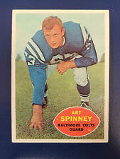 1960 Topps Football Cards Complete Your Set You Pick Choose Each #1 - 132