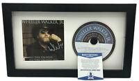 WHEELER WALKER JR SIGNED FRAMED CD DISPLAY ALL-TIME GREATEST HITS A BECKETT COA
