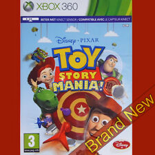 TOY STORY MANIA! - Microsoft Xbox 360 ~PAL~3+ Kids Game BRAND NEW & Sealed!