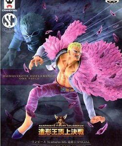 New Banpresto One Piece SCultures BIG Model King SPECIAL DONQUIXOTE DOFLAMINGO