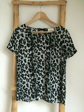 Stunning Silk blouse / top from French brand SEZANE T38