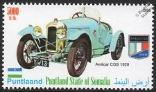1928 AMILCAR CGS Sports Car Automobile Stamp