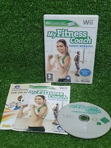 MY FITNESS COACH CARDIO WORKOUT game for NINTENDO Wii health & fitness