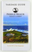 PEBBLE BEACH GOLF LINKS (2019 U.S. Open Championship) YARDAGE GUIDE