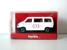 VW VOLKSWAGEN MINIBUS CARAVELLE D1 TELECOM - HERPA 041420 - ECHELLE HO 1/87