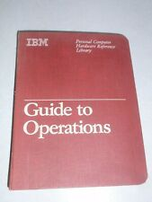 IBM Personal Computer PCjr Hardware Manual Reference Guide to Operations w/ Disk