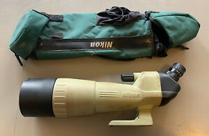 Nikon Sky & Earth 20-60 x 80mm Angled Spotting Scope With Case