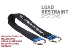 2 Pack 450mm Car Trailer Axle Strap,  Car Carrying, Centre Strap, Tilt Tray