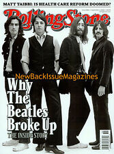 Rolling Stone 9/09,The Beatles,Bowie,John Hughes,Matt Weigman,NEW