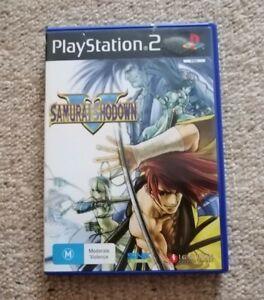 Samurai Showdown V 5 PS2 Playstation 2 Game Complete Rare AU Release