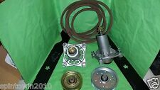 "Husqvarna YTH 20 K 46"" Mower Deck Rebuild Kit Spindles Blades Belt Pulleys&bolts"