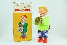 vintage toy Aufzieh-Clown von Nomura TN Japan mit Uhrwerkantrieb in OVP