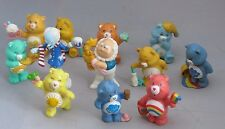 Vintage Care Bears Miniature figures lot of 12 figures 1983 1984 Cloud Keeper