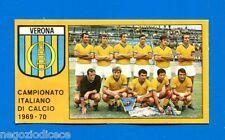 # CALCIATORI PANINI 1969-70 - Figurina-Sticker - VERONA SQUADRA -Rec