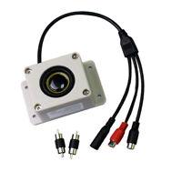 Waterproof Outdoor Mic Speaker for Security IP Camera Audio Recording NEW