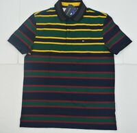 NWT Men's Tommy Hilfiger Short-Sleeve Polo Shirt Multi Stripe XXL / 3XL