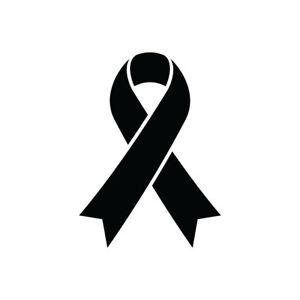 "5.5"" CAUSE RIBBON Vinyl Decal Sticker Car Window Laptop Disease Cancer Soldier"