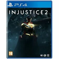 Injustice 2 (PS4) Brand New & Sealed UK PAL Quick Dispatch Free UK Shipping