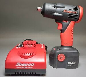 """SNAP-ON 14.4V IMPACT WRENCH 1/2""""- CTA4450A - WITH 14.4V BATTERY AND CHARGER"""