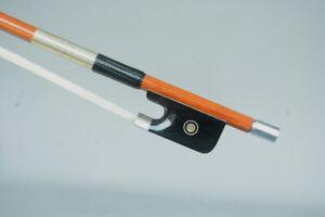 Master performence!!A Best Genuine Pernambucowood Viola Bow !Silver 69.5G