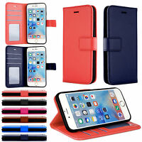 Leather Flip Wallet Card Holder Case Cover For Apple iPhone SE 6 7 8 XS XR 7Plus